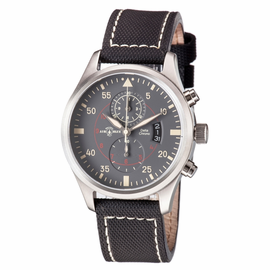 DELTA CHRONOGRAPH STAINLESS CASE GREY  DIAL