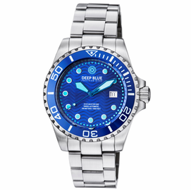 DIVE MASTER 500 SWISS AUTOMATIC DIVER BLUE