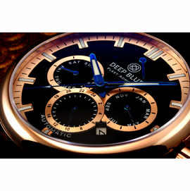 Fleet Admiral � Polish Rose Gold Case- BLACK Dial