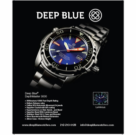 Holiday 2011 Deep Blue Advertisement