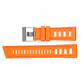 HYDRO 91 NATURAL RUBBER STRAP 24MM ORANGE