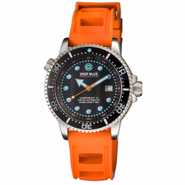 JUGGERNAUT IV SWISS AUTOMATIC – DIVER BLACK/ORANGE