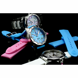 Lady Blue T100 -  MOP - Silicon Band