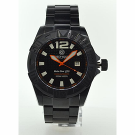 MARINE DIVER 500 PVD Black/Orange