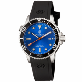 MASTER 1000 AUTOMATIC DIVER BLACK BEZEL -BLUE SUNRAY  DIAL