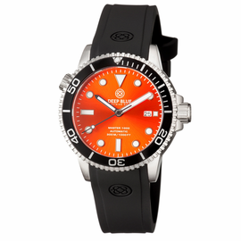 MASTER 1000 AUTOMATIC DIVER BLACK BEZEL -ORANGE SUNRAY  DIAL
