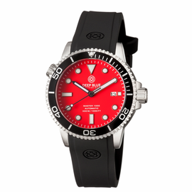 MASTER 1000 AUTOMATIC DIVER BLACK BEZEL -RED MATTE  DIAL
