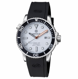 MASTER 1000 AUTOMATIC DIVER BLACK BEZEL-WHITE GLOSSY DIAL