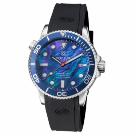 MASTER 1000 AUTOMATIC DIVER BLUE BEZEL -BLUE MOTHER OF PEARL  DIAL