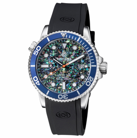 MASTER 1000 AUTOMATIC DIVER BLUE BEZEL -SMALL ABALONE SHELL DIAL