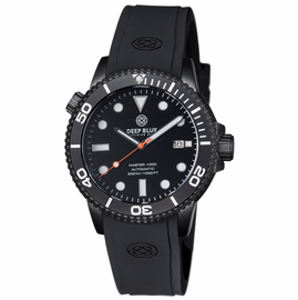 MASTER 1000 AUTOMATIC DIVER PVD BLACK CASE- BLACK BEZEL -BLACK DIAL-ORANGE SECOND HAND