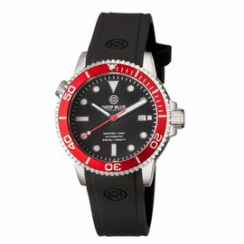 MASTER 1000 AUTOMATIC DIVER RED BEZEL -BLACK DIAL