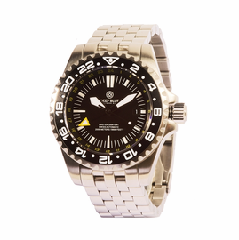 Master 2000 GMT  Diver Bracelet  - Black Black Yellow