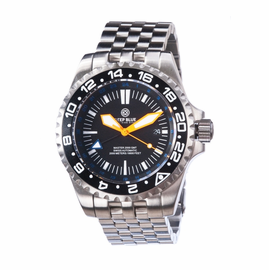 Master 2000 GMT  Diver Bracelet  - Black Orange Blue