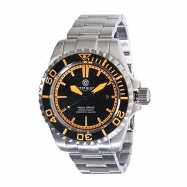 Master 2000 III Inner Lume Ring  - Black Black  Black -ORANGE Lume