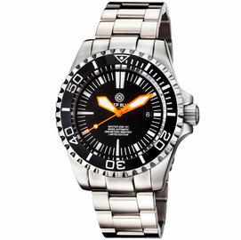 MASTER 2000 SWISS AUTOMATIC DIVER – BLACK-BLACK-ORANGE
