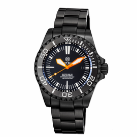 MASTER 2000 SWISS AUTOMATIC DIVER –BLACK-ORANGE-PVD BLACK CASE