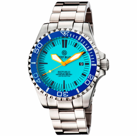 MASTER 2000 SWISS AUTOMATIC DIVER – BLUE-ORANGE-FULL LUME DIAL