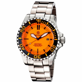 MASTER 2000 SWISS AUTOMATIC DIVER –ORANGE-BLACK-FULL LUMINOUS DIAL
