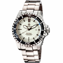 MASTER 2000 SWISS AUTOMATIC DIVER – WHITE-BLACK -FULL LUME DIAL