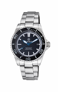 MASTER 500 42MM SWISS AUTOMATIC DIVER BLACK INNER LUME
