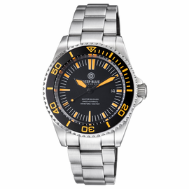 MASTER 500 42MM SWISS AUTOMATIC DIVER BLACK ORANGE