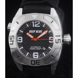 MASTER DIVER 1000m STRAP BLACK ORANGE  HANDS