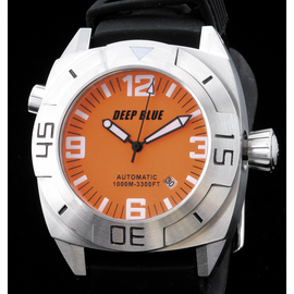 MASTER DIVER 1000m STRAP  ORANGE BLACK  HANDS