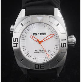 MASTER DIVER 1000m STRAP  WHITE ORANGE HANDS