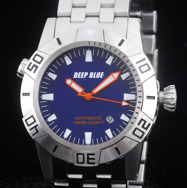 MASTER EXPLORER 1000m STEEL BLUE  ORANGE HANDS
