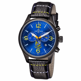 Mens US NAVY BLUE ANGELS PVD  Chronograph Watch