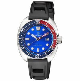 MILITARY DIVER 300 SWISS AUTOMATIC � DIVER BLUE/RED