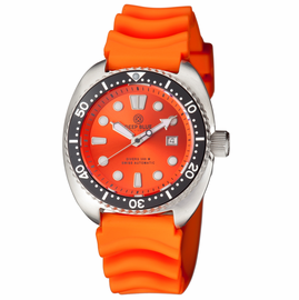 MILITARY DIVER 300 SWISS AUTOMATIC – DIVER ORANGE- ORANGE VENT STRAP