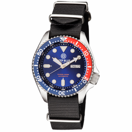 NATO DIVER COLLECTION PEPSI BEZEL BLACK STRAP