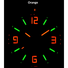 Orange Dial Lume shot