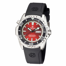 PRO AQUA 1500M AUTOMATIC DIVE WATCH RED