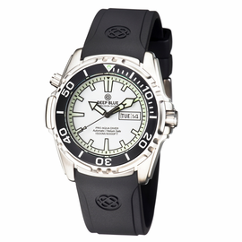 PRO AQUA 1500M AUTOMATIC DIVE WATCH WHITE
