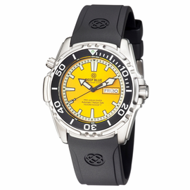 PRO AQUA 1500M AUTOMATIC DIVE WATCH YELLOW