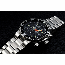 PRO SEA CHRONO 1K 1000m BRACELET Black