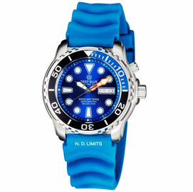 PRO TAC 1000M AUTOMATIC  DIVER 1/4 BEZELS /ORANGE BEZEL -4 COLORS