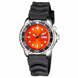 PRO TAC 1000M AUTOMATIC DIVER BLACK BEZEL - ORANGE DIAL