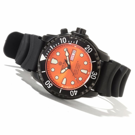 ProTac Diver 1k PVD Orange Dial