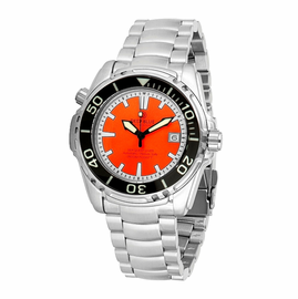 SEA QUEST 1500M AUTOMATIC DIVER ORANGE