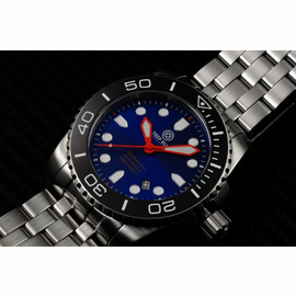 SEA RAM AUTOMATIC BLACK CERAMIC  BEZEL COLOR DIAL COLLECTION