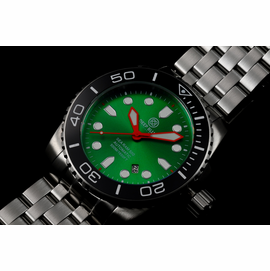 SEA RAM AUTOMATIC - BLACK/GREEN