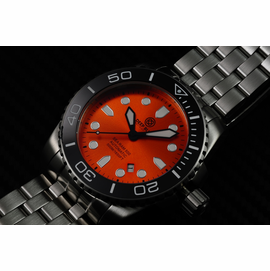 SEA RAM AUTOMATIC - BLACK/ORANGE