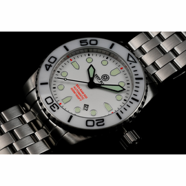 SEA RAM AUTOMATIC - WHITE/BLACK-BLACK