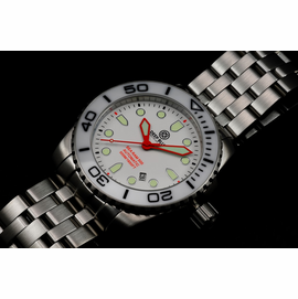 SEA RAM AUTOMATIC - WHITE/BLACK-ORANGE