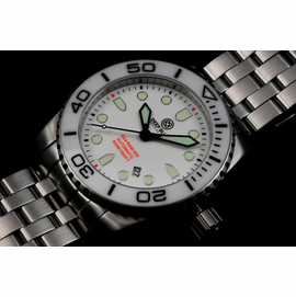 SEA RAM AUTOMATIC WHITE CERAMIC BEZEL COLLECTION 1 COLOR