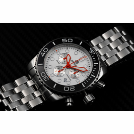 SEA RAM CHRONOGRAPH - BLACK/WHITE-ORANGE SOLD OUT